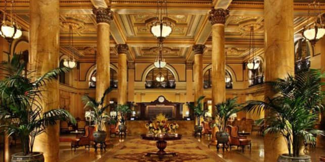A Photo of the Willard InterContinental's Lobby