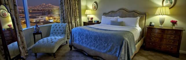 A Photo of the Presidential Suite at the Windsor Court Hotel