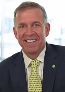 Headshot of Andy Harmening, Senior Executive Vice President, Consumer and Business Banking Director for Huntington Bank