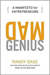 Cover Art for Mad Genius, by Randy Gage
