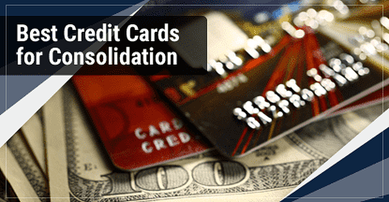 15 Best Credit Cards for Consolidation in 2018