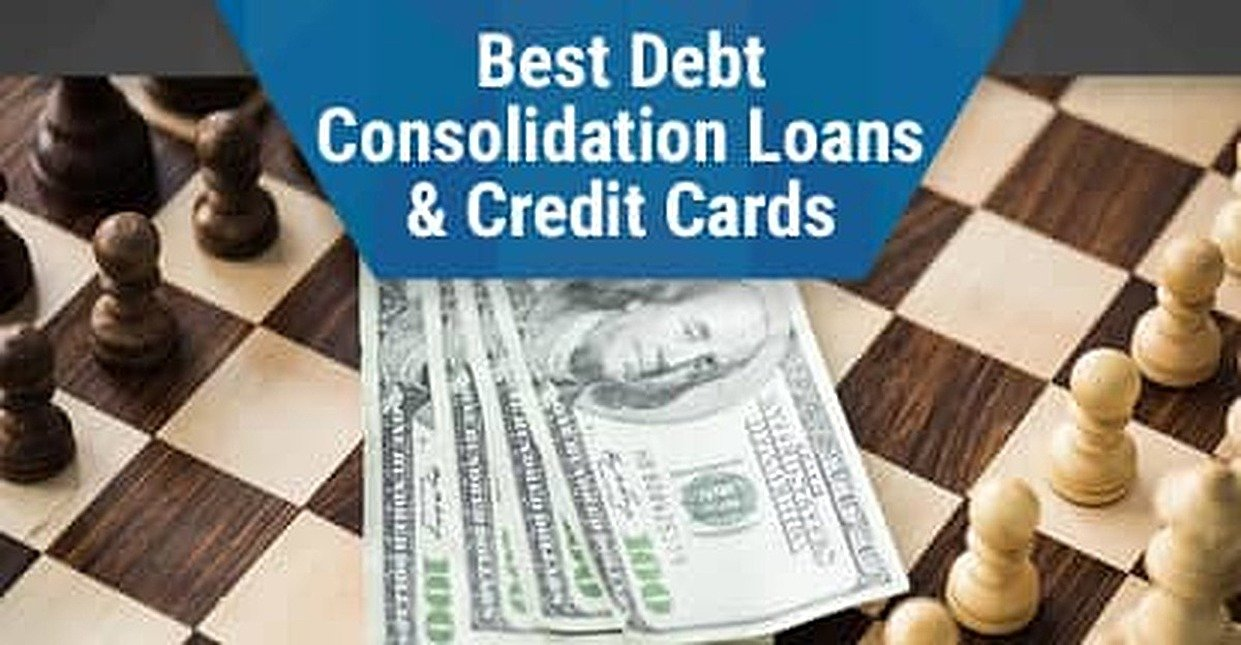 9 Best Debt Consolidation Loans & Credit Cards in 2018