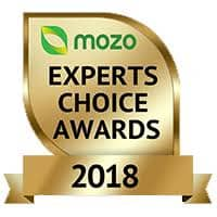A Photo of Mozo's Experts Choice Award Badge