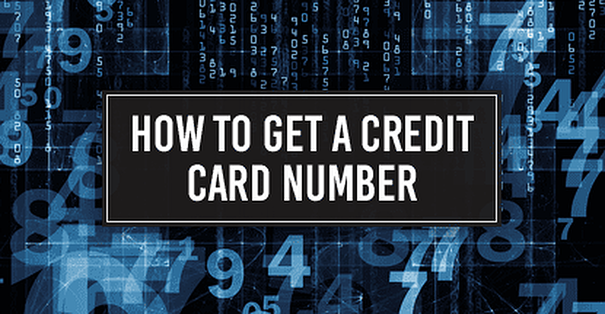 Credit Card Numbers (2019): How to Get Card Numbers Online