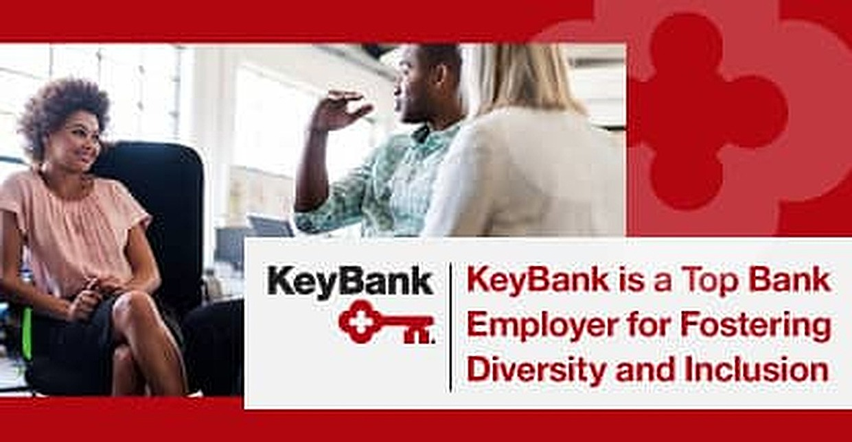 KeyBank Recognized as a Top Bank for Fostering Diversity and Inclusion Among Employees