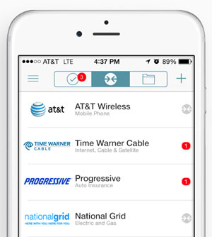 Mobile Screenshot of the doxo Application