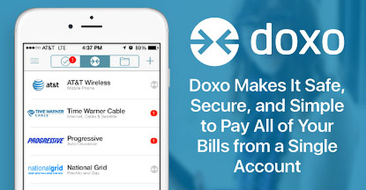 Doxo Makes It Safe, Secure, and Simple to Pay All of Your Bills from a Single Account