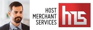 Photo collage of the Host Merchant Services logo and COO Jeff Raybould