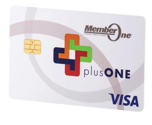 Member One plusONE Visa Cashback Credit Card