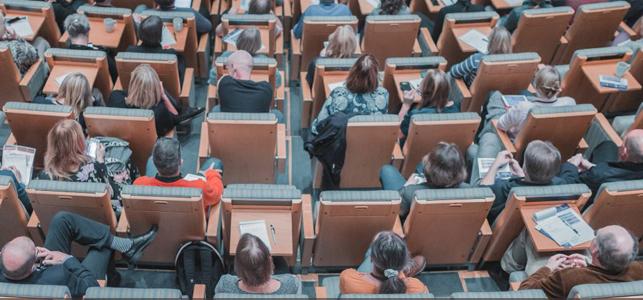 Photo of a financial education seminar