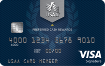 USAA Preferred Cash Rewards Visa Signature® Card