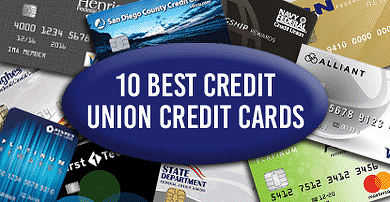 10 Best Credit Union Credit Cards of 2018