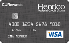 Henrico Federal Credit Union Visa® Platinum Rewards Card