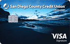 SDCCU Visa Signature® Card
