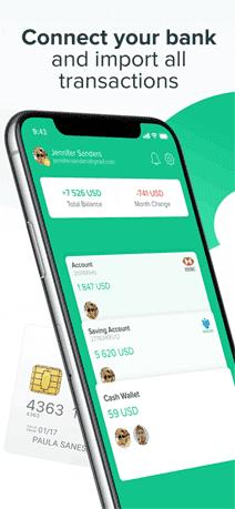 Spendee phone app