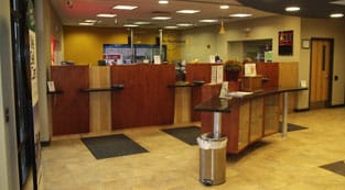 St. Paul Federal Credit Union interior