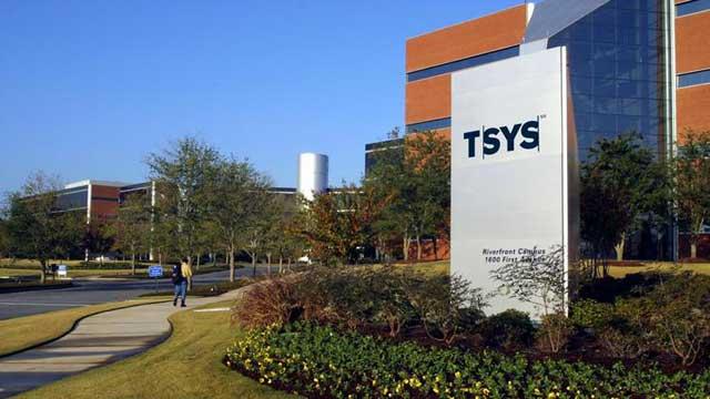 TSYS exterior photo