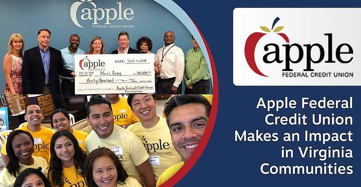 Apple Federal Credit Union Makes an Impact in the Virginia Communities it Serves Through Volunteerism and Philanthropy