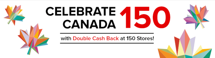 Screenshot of Canada 150 event ad