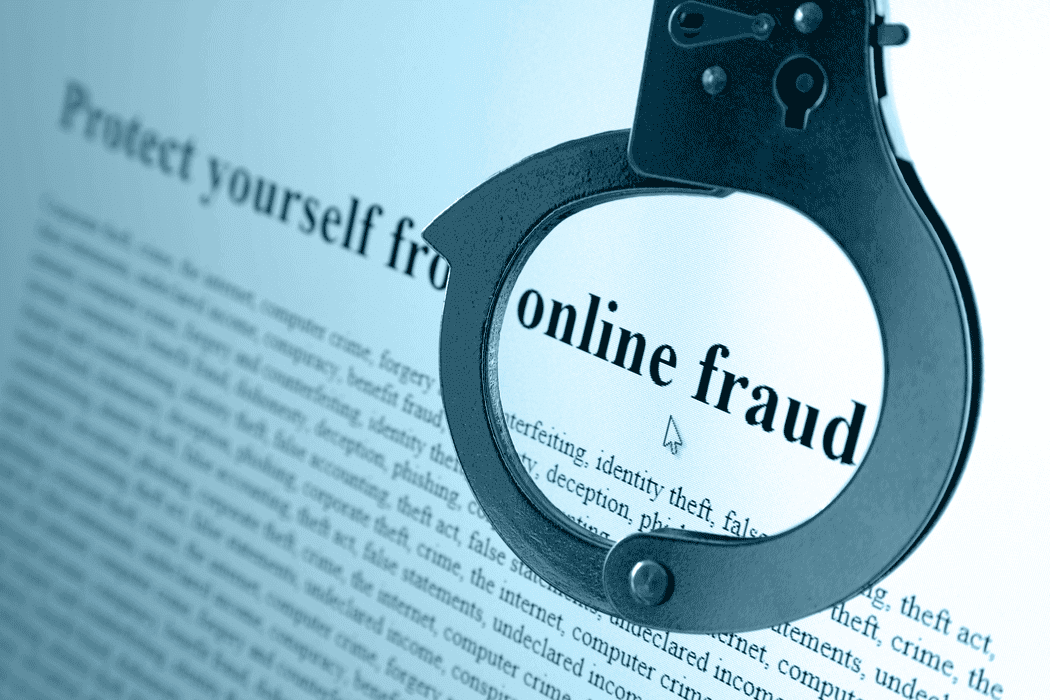 Online Fraud Stock Photo