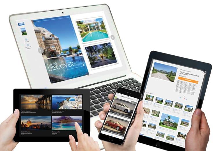 Screenshot of Catalogs.com device diversity