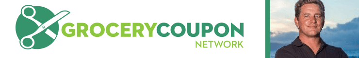 Grocery Coupon Network logo and photo of Co-Founder and CMO Jeff Hudson