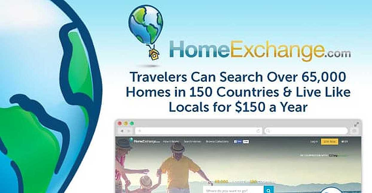 Home Exchange: Travelers Can Search Over 65,000 Homes in 150 Countries & Live Like Locals for $150 a Year