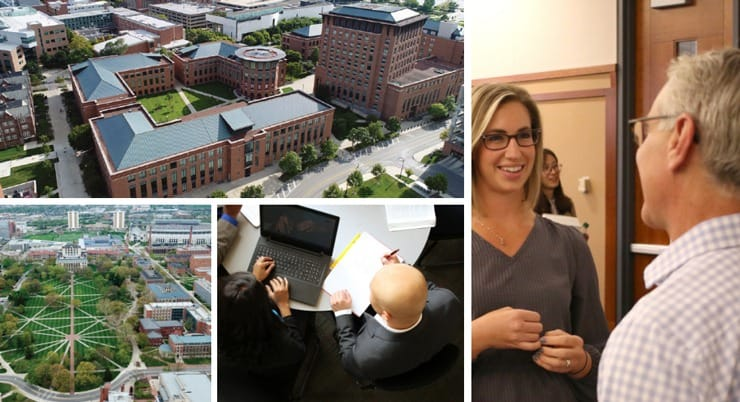 Collage of OSU Fisher School of Business