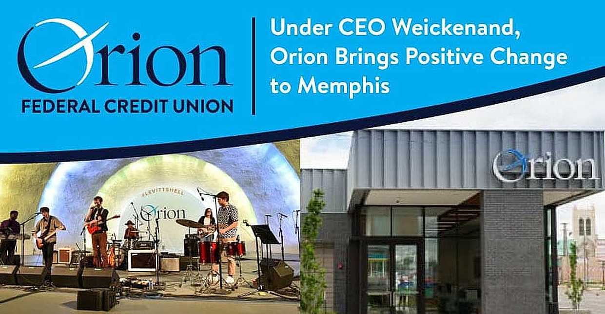 Under Daniel Weickenand's Leadership, Orion Federal Credit Union is Making Positive Impacts in Memphis through Funding and Community Involvement