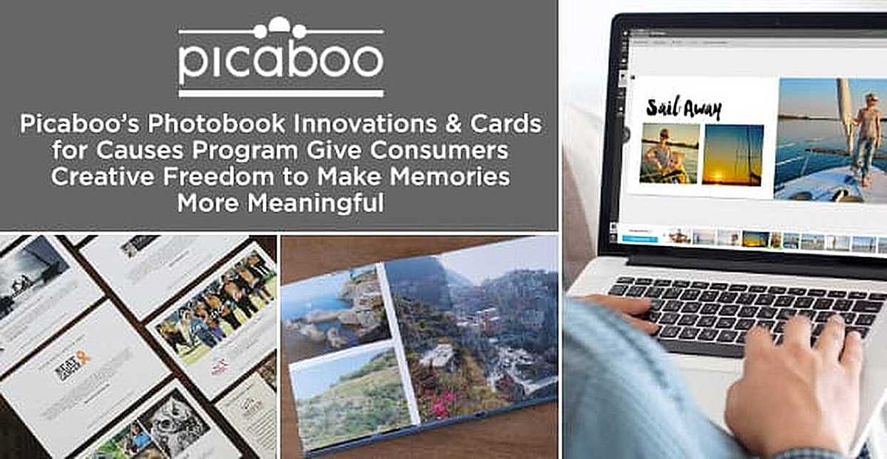 Picaboo's Photobook Innovations & Cards for Causes Program Give Consumers Creative Freedom to Make Memories More Meaningful