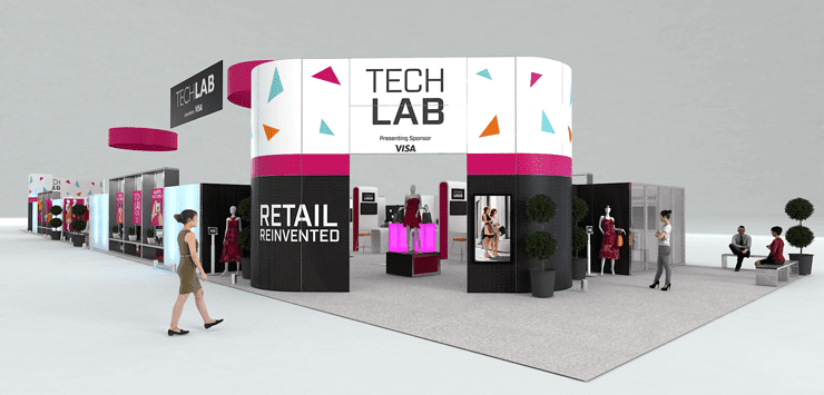 Artist's rendering of Shop.org 2017 Tech Lab