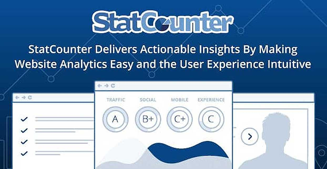StatCounter Delivers Actionable Insights By Making Website Analytics Easy and the User Experience Intuitive