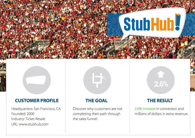 StubHub Case Study
