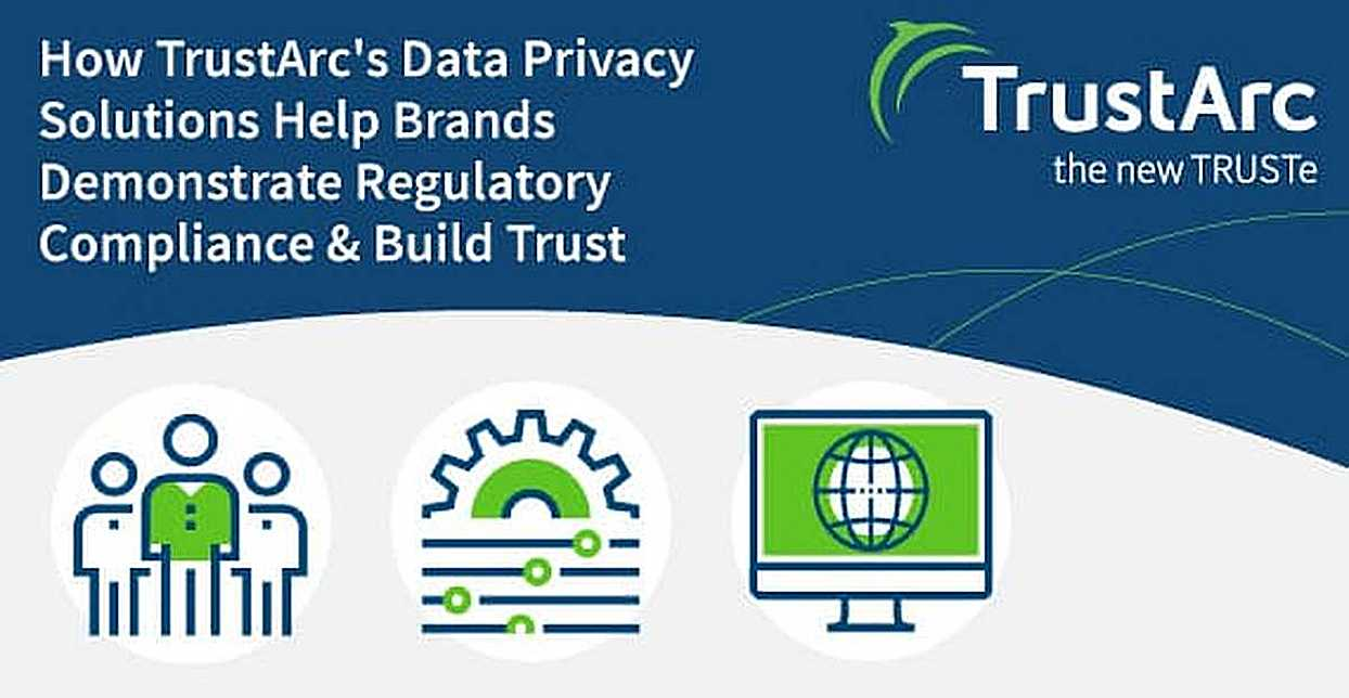 How TrustArc's Data Privacy Solutions Help Brands Demonstrate Regulatory Compliance & Build Trust