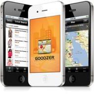 A photo of the Goodzer app
