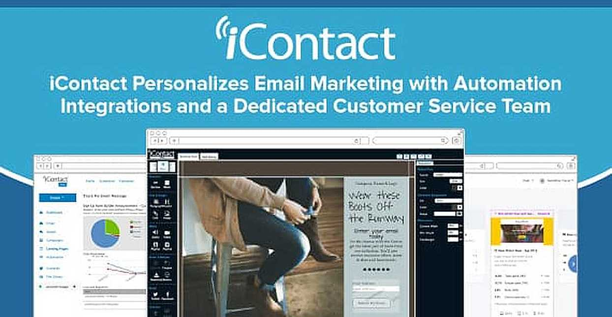 iContact Personalizes Email Marketing with Automation Integrations and a Dedicated Customer Service Team