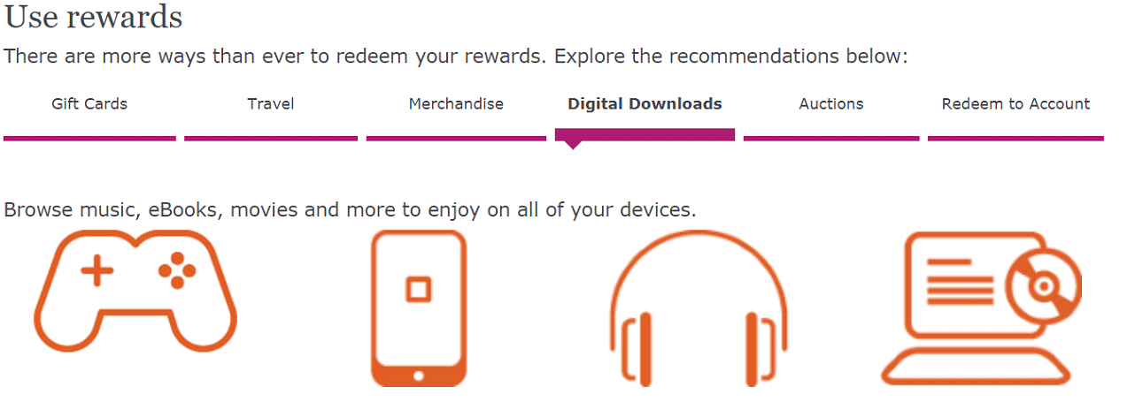 Screenshot of Go Far Rewards® Homepage