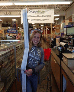 Photo of the Coupon Mom Olympics