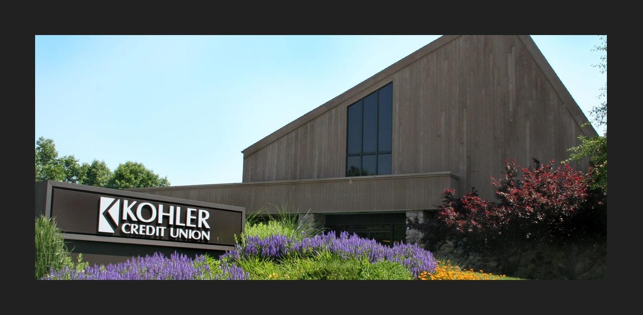 Photo of Kohler Credit Union branch