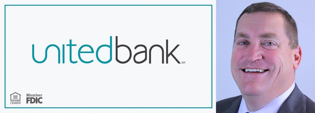 United Bank Logo and Portrait of Brandon Lorey