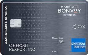 Marriott Bonvoy Business American Express® Card