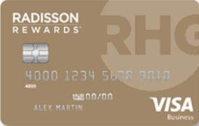 Radisson Rewards Business Visa® Card