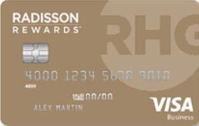 Radisson Rewards Business Visa® Card