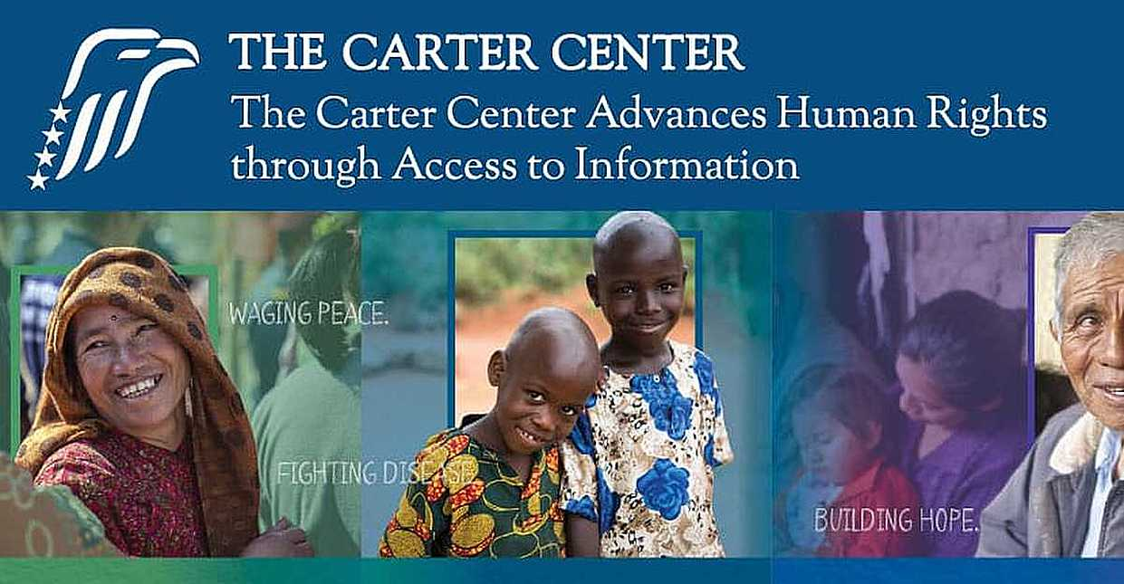 The Carter Center Uses Donations to Advance Human Rights by Promoting Global Access to Information
