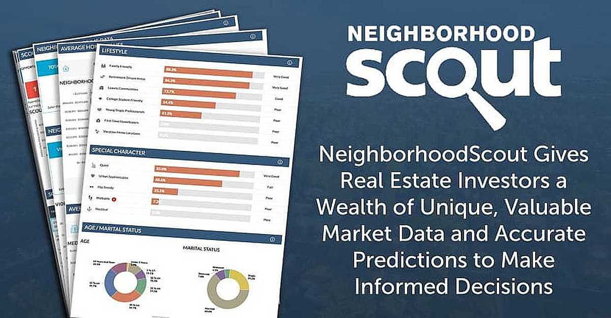 NeighborhoodScout Gives Real Estate Investors a Wealth of Unique, Valuable Market Data and Accurate Predictions to Make Informed Decisions