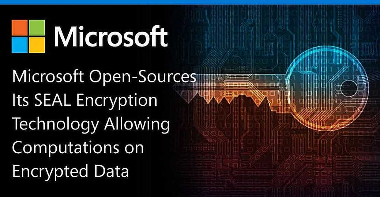 Microsoft Open-Sources Its SEAL Encryption Technology Allowing Computations on Encrypted Data