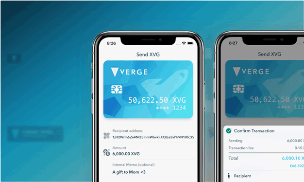 Verge Mobile Wallet
