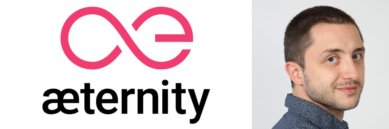 Photo of Vlad Dramaliev, Head of Digital Marketing at æternity