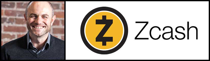 Josh Swihart and Zcash Logo