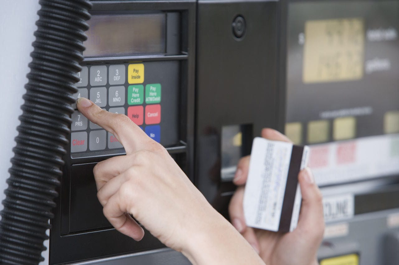 Using a Credit Card at the Gas Pump